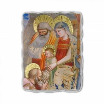 """Giotto freska """"Klanění tří králů"""" ručně v Itálii"""