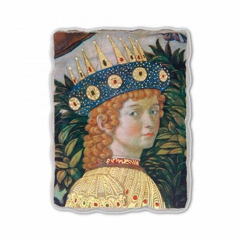 "Gozzoli freska ""průvodu Tří králů s králem Balsazara"""