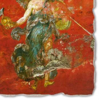 """Největší Roman Fresco """"Cycle přemítá"""" made in Italy"""