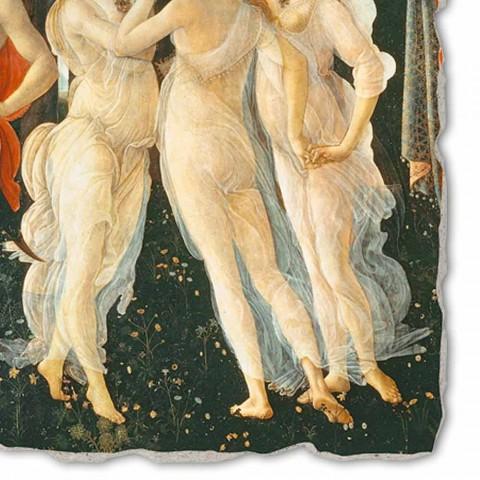 """velký Botticelli Fresco """"Alegorie jara"""" část."""
