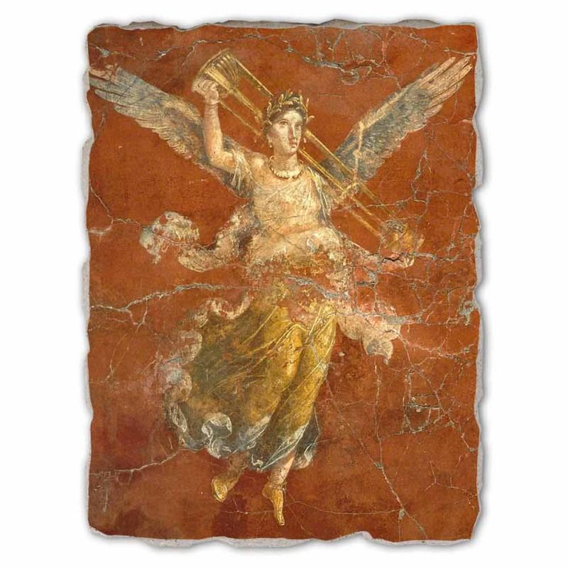 """Great Fresco ruční Roman """"Cyklus múz"""""""