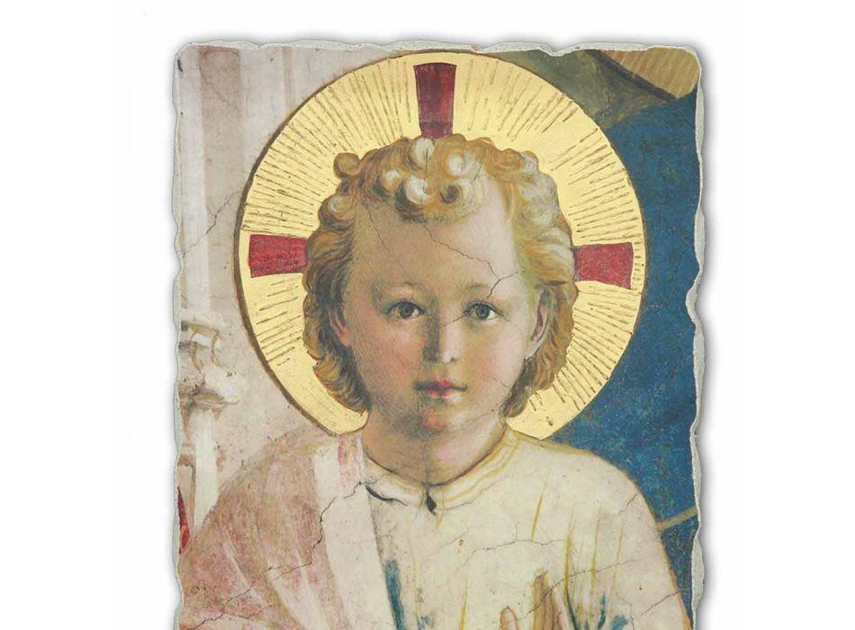 """Great Fresco ruční Beato Angelico """"Madonna Shadows"""""""