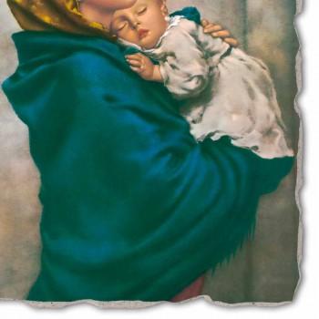 """Great Fresco handmade Ferruzzi """"Naší Paní z Rest"""""""