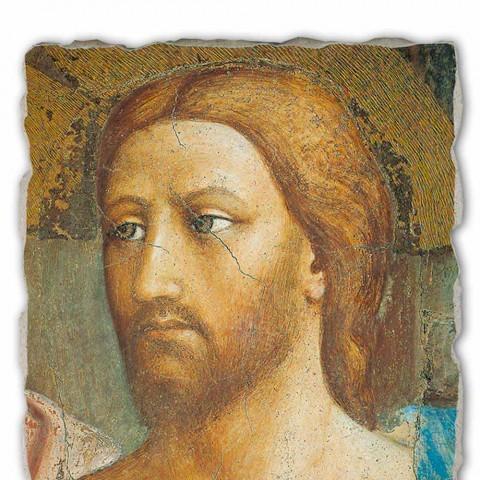 """Fresco velký ruční Italská Masaccio """"Pocta"""""""
