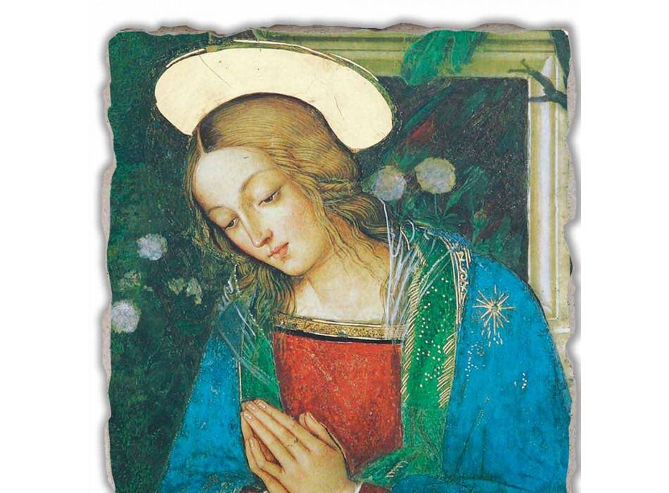 """Great Fresco ručně v Itálii Pinturicchia """"Zrození"""""""