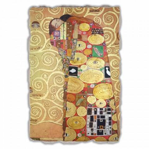 """Great Fresco provádí v Itálii Gustava Klimta """"objetí"""""""