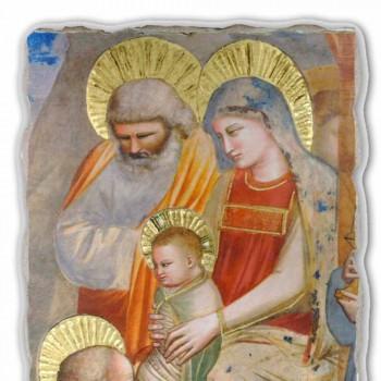 """velký Giotto freska """"Klanění tří králů"""" made in Italy"""