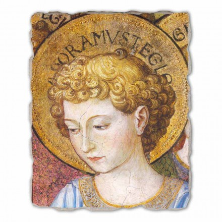 """Great Fresco Gozzoli """"Sbory andělů v klanění"""" - ca 1454"""