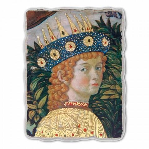 """Great Fresco Gozzoli """"průvodu Tří králů s králem Balsazara"""""""