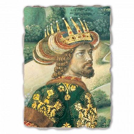 """Největší Fresco Gozzoli Průvod Tří králů s králem Melchior """""""