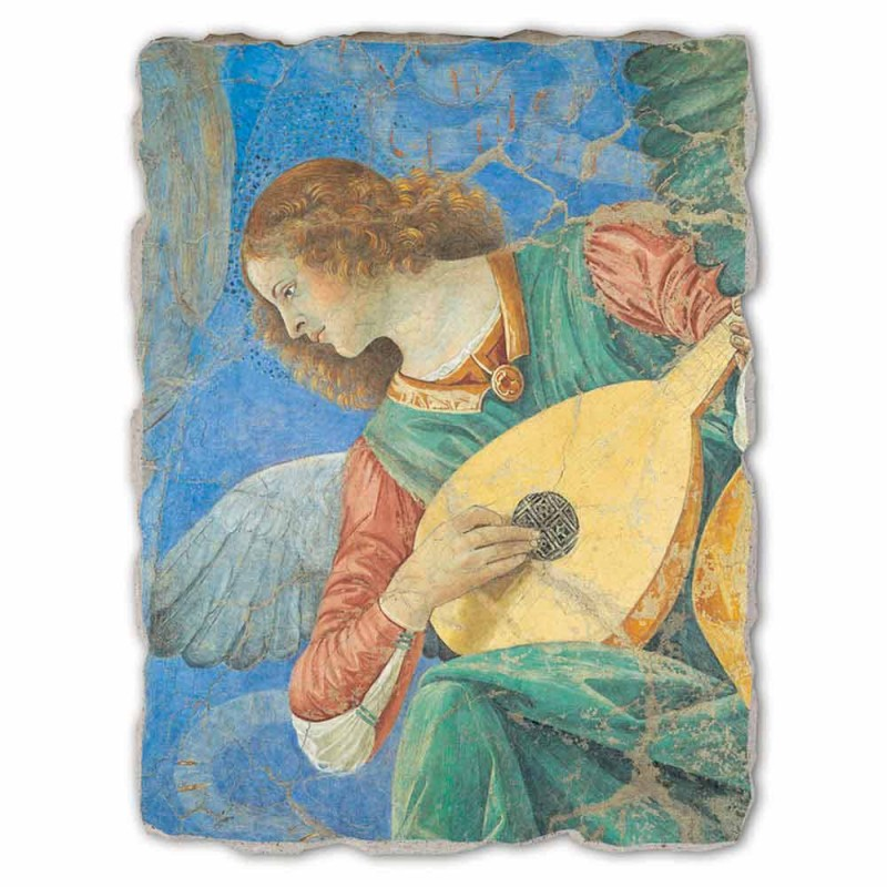 "Great Fresco Melozzo da Forlì ""Angelo Musicante"""