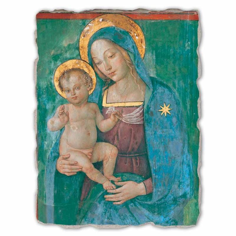 """Great Pinturicchio Fresco """"Madona s dítětem"""" Řemeslný"""