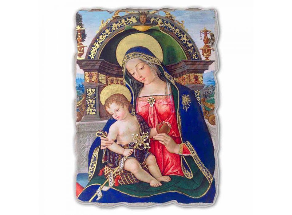 Fresco Pinturicchio velký oltářní obraz Santa Maria dei Fossi