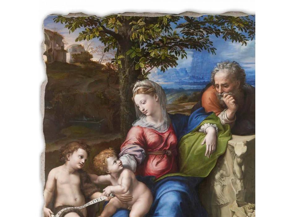 """Great Fresco R. Sanzio """"Svatá rodina pod dub"""""""