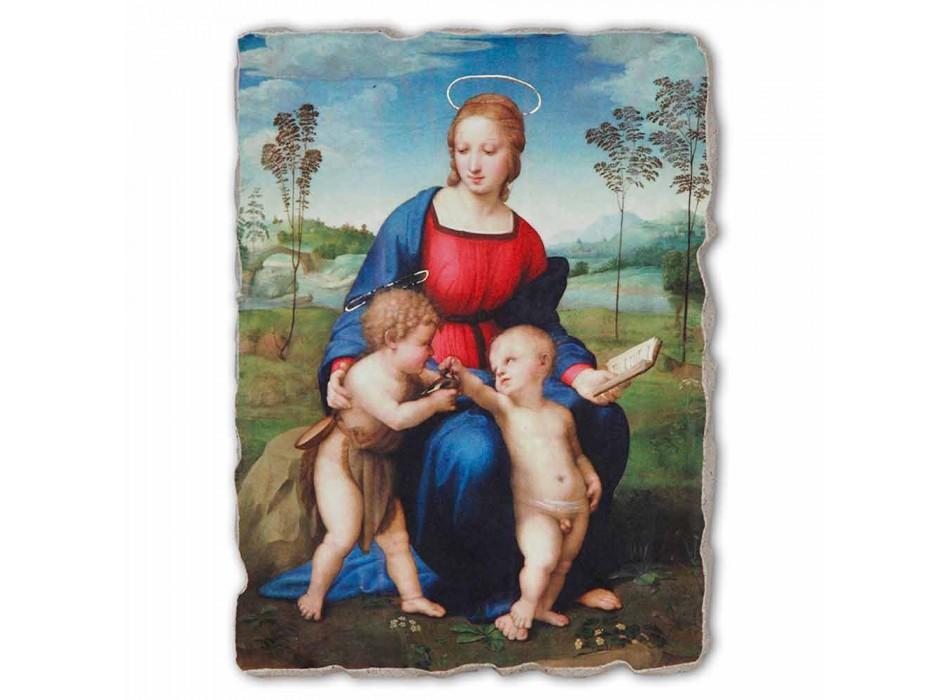 "Great Fresco Raffaello Sanzio ""Madonna v Goldfinch"""