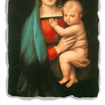 """Great Fresco Raffaello Sanzio """"Madonna del Granduca"""""""