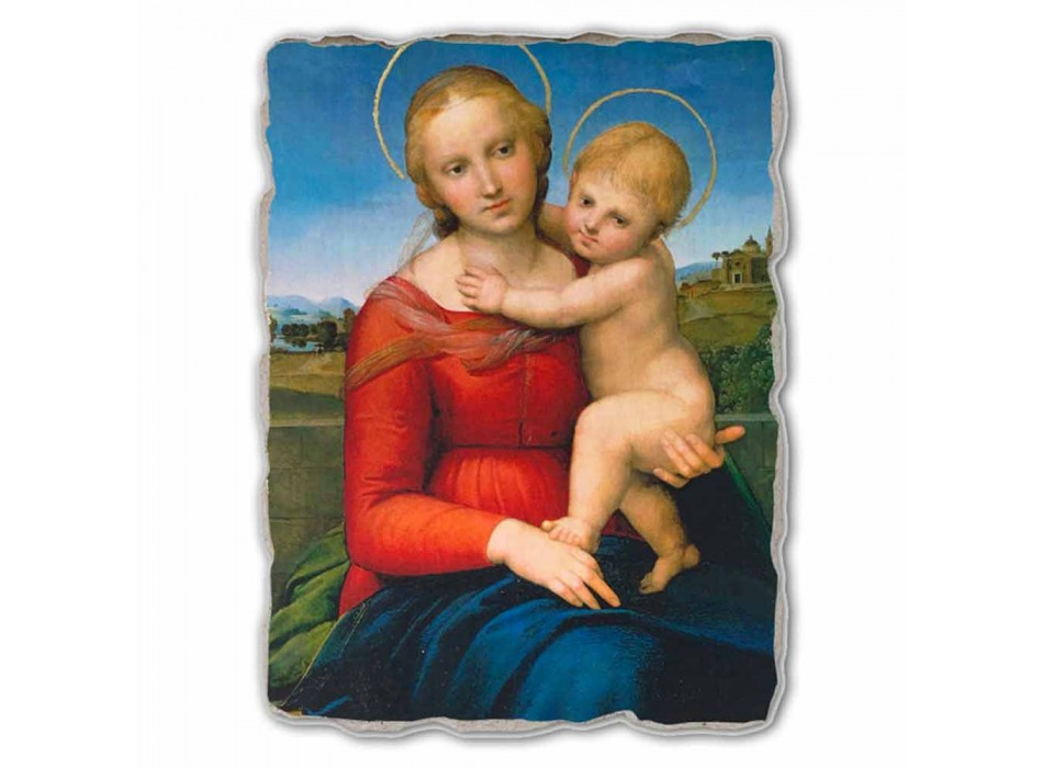 "Fresco velký Raffaello Sanzio ""Small Cowper Madonna"" v roce 1505"