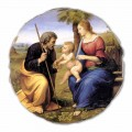 "Fresco velký Raffaello Sanzio ""Svatá rodina s palmou"""