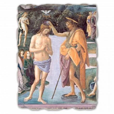 "velká hra Perugino Fresco ""Křest Krista"""