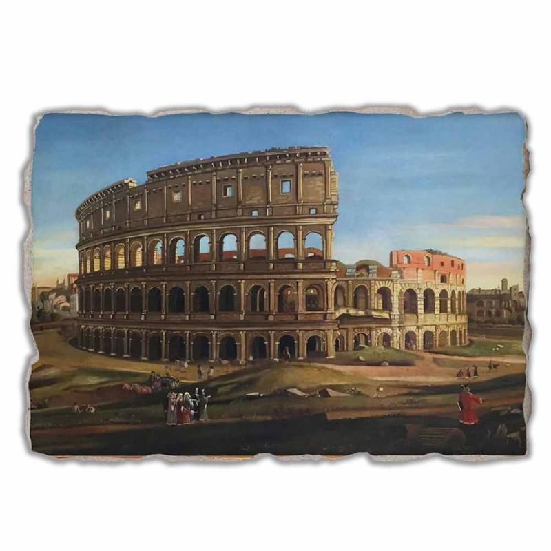 """Great Fresco Vanvitelli """"Koloseum a Konstantinův oblouk"""""""
