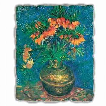 "Great Fresco Vincent Van Gogh ""Still Life with Fritillaries"""