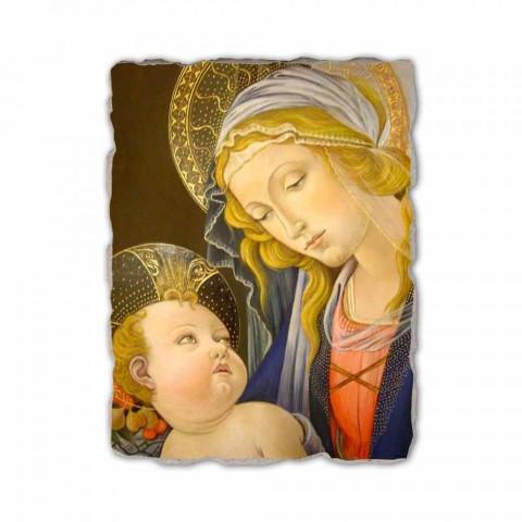 "Fresco hrát Botticelli ""Madonna knihy"""