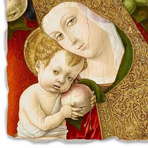 """Fresco reprodukce Carlo Crivelli """"Madonna Lochis"""" 1475"""