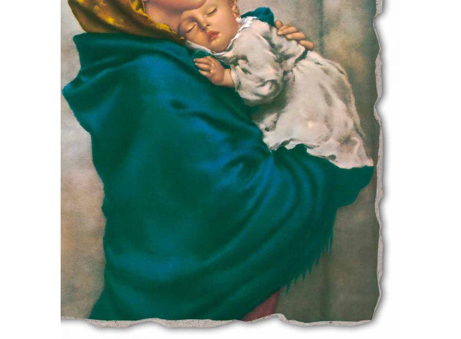 """Fresco rozmnožování ruční Ferruzzi """"Our Lady of Rest"""""""