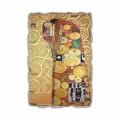 """Fresco reprodukce vyrobeny v Itálii Gustava Klimta """"objetí"""""""