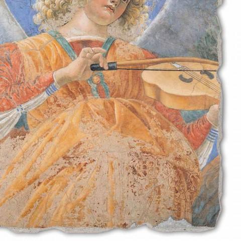 "Fresco velká hra Melozzo da Forlì ""Angelo Musicante"""