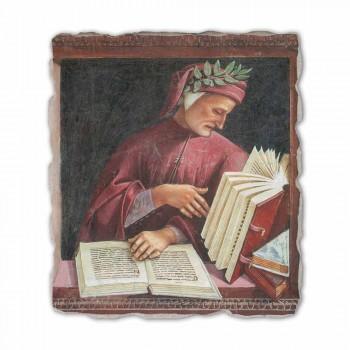 "Fresco reprodukce Luca Signorelli ""Dante Alighieri"" 1499-1502"