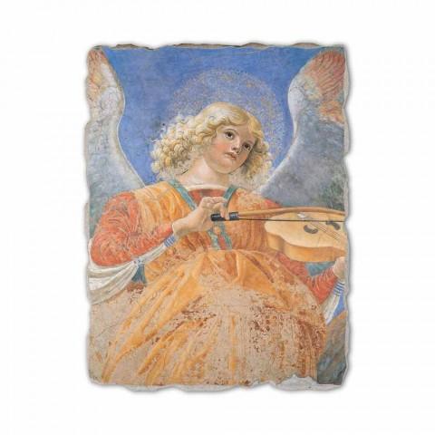 """Fresco rozmnožování Melozzo da Forlì """"Angelo Musicante"""""""