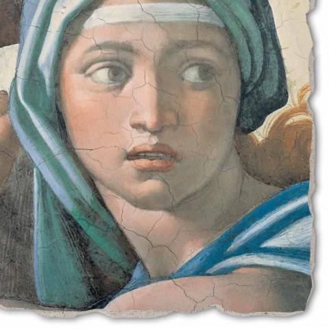 """Fresco Michelangelo rozmnožování """"Věštírna v Delfách"""""""
