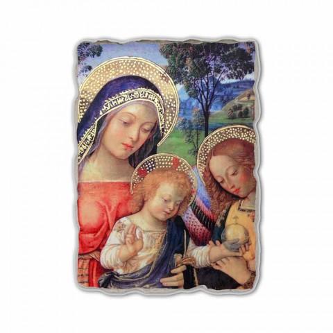 """Fresco Pinturicchio hraní """"Lady míru"""" část."""