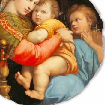 "Fresco rozmnožování Raffaello Sanzio ""Madonna katedry"""