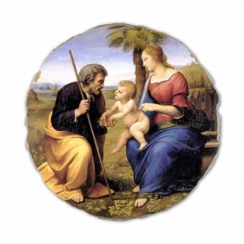 "Fresco rozmnožování Raffaello Sanzio ""Svatá rodina s palmou"""