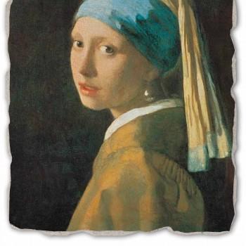 "Fresco hrát Vermeer ""dívka s turbanem"" 1665"