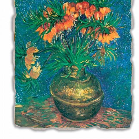 "Fresco Vincent Van Gogh ""Still Life with Fritillaries"" 1887"