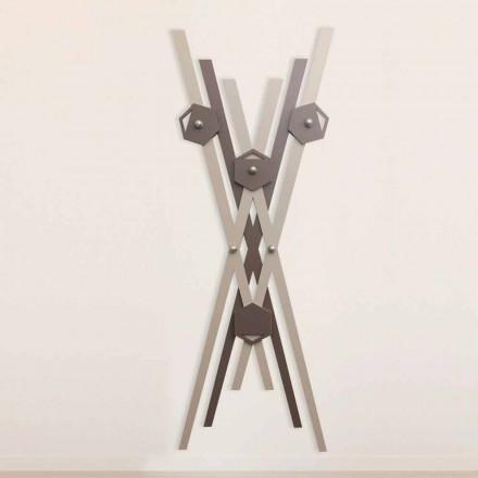 Nástěnný věšák Moderní design Barevné dřevo pro vchod - Picasso