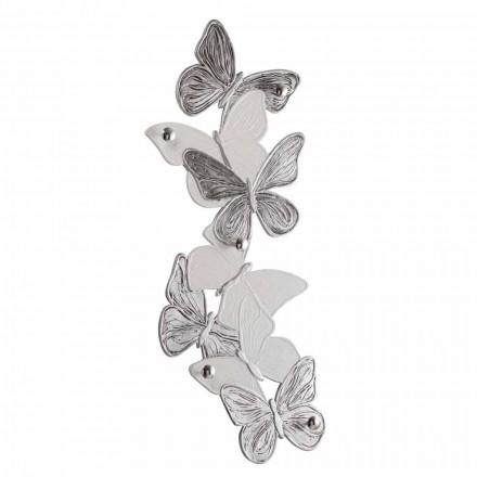 Nástěnný závěs s designovými motýlky 5pomelli vyrobený v Itálii Brice