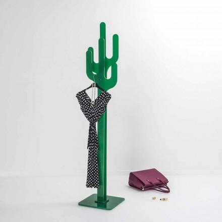 Věšák Green Cactus moderní design, vyrobeno v Itálii