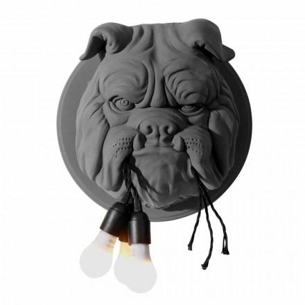 Nástěnná nástěnná svítidla se 3 světly v šedém nebo bílém keramickém moderním designu - Dogbull
