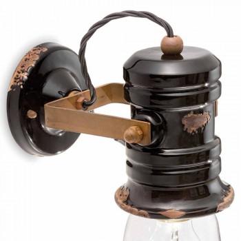 Nášivka stěna reflektoru z keramiky, skla a kovů Joy Ferroluce