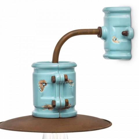 Nášivka světla stěny keramické a kovové řemesla Katy