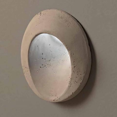 Oválná venkovní nástěnná lampa, v barevné terakotové Oval - Toscot
