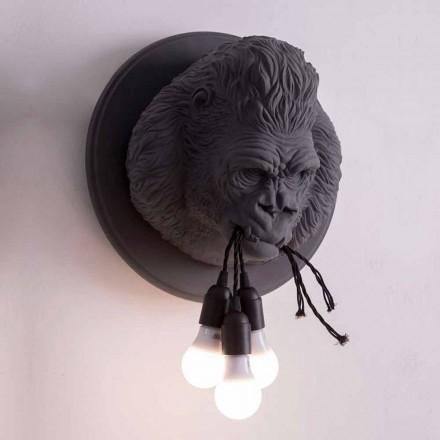 Nástěnná lampa 3 Lights v provedení Gorilla Ceramic Grey nebo White - Rillago