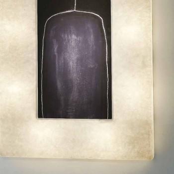 Moderní design wall light In-es.artdesign Lunární láhev 2 v nebulitu