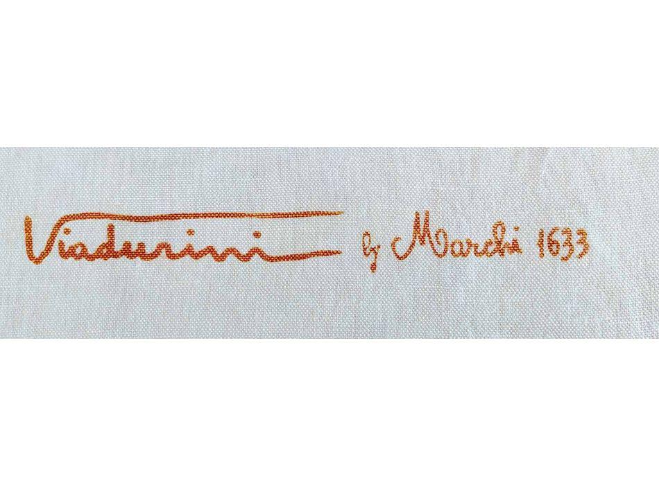 Ručně malované umělecké bavlněné ručníky Unikátní italský řemeslník