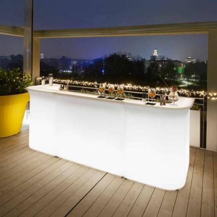Současný design zahradní lehké barové čítače Slide Break Line
