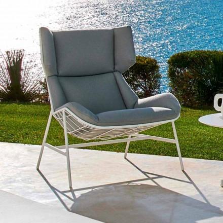 Bergère zahradní křeslo Varaschin Letní sada moderního designu